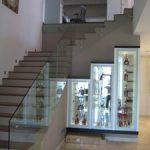 (BL-R002) Glass Balustrade offer a seamless look