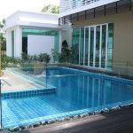 (BL-R007) Pool glass fence