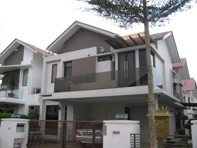 Bl r010 bronze color balcony glass for Balcony design ideas malaysia