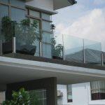 (BL-R021) Glass balustrade