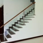(BL-R024) Glass staircase