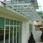 (CP-R006) Glass Canopy