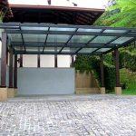 (CP-R007) Glass canopy car park