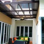 (CP-R009) Glass skylight creates a lovely outdoor sitting area