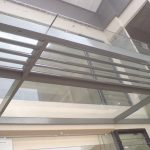(CP-R012) Glass Canopy with aerofoil