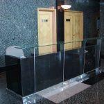 (CN-C 011) Glass reception counter