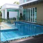(FE-R002) Transparent pool fence