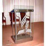 (FU-R012) Rostrum glass front panel
