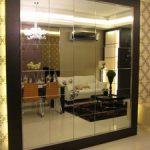 (WN-R007) Framed mirror