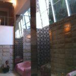 (WN-R015) Sandblast bronze mirror