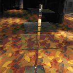 (TT-C 001) Glass serving table