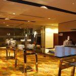 (TT-C 002) Glass serving table
