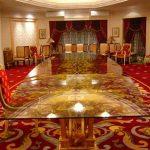 (TT-C 006) Glass dining table