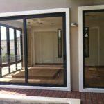 (AL-R013) Aluminium framed door
