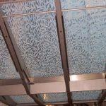 (SB-D013) Canopy with sandblasted design