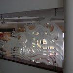(SB-D031) Glass partition