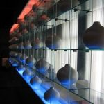 (DS-C 002)Glass shelve display