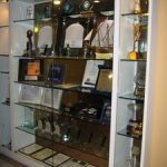 (DS-C 005) Glass shelve display