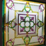(ST-D012) Art glass panel