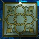 (ST-D017) Graphic design art glass