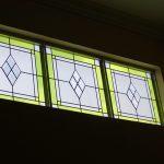 (ST-D024) Leade art on glass window