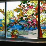 (ST-D026) Nature design art glass