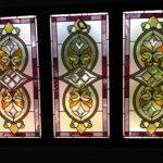 (ST-D027) Graphic motif design art glass