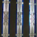 (ST-D028) Leaded art design on windows