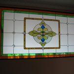 (ST-D035) Graphic motif design art glass
