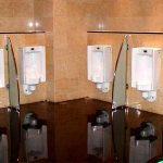(TC-C 007) Toilet Glass partition