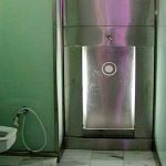 (TC-C 008) Toilet Glass partition