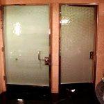(TC-C 009) Toilet Glass partition