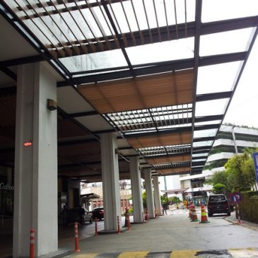 Hotel Glass Canopy