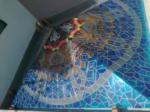 stain glass roof