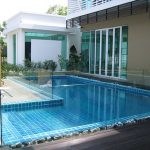 (BL-R007) Pool glass fence