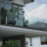 (BL-R021) Glass balustrade