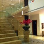 (BL-R022) Glass staircase