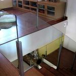(BL-R028) Glass staircase