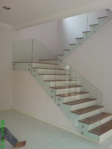 (BL-R029) Glass staircase