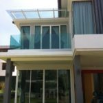 (BL-R030) Glass balustrade