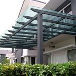(CP-R003) Glass Canopy require minimum maintenance