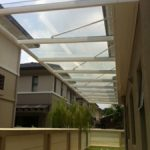 (CP-R005) Glass canopy