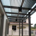 (CP-R015) Glass canopy