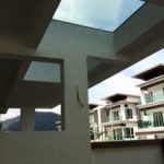 (CP-R016) Glass skylight