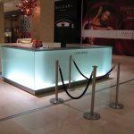 (CN-C 008) Illuminated glass counter
