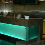 (CN-C 013) Glass reception counter
