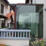 (DO-R015) Glass door