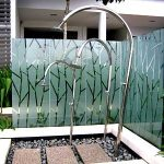 (FE-R004) Open Pool Shower Fence