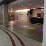 (FL-C 001) Gallery entrance floor glass