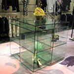 (FU-R002) UV bonded glass display unit